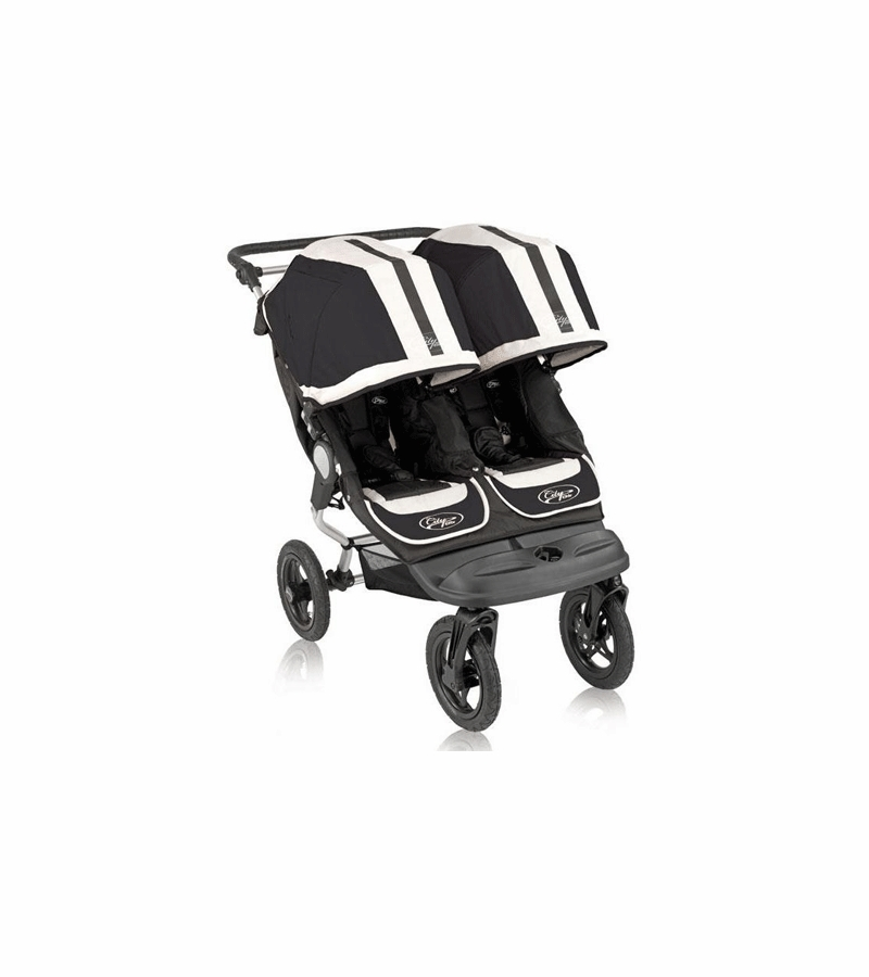 Baby Jogger City Elite Double Stroller 2009 Black Sport