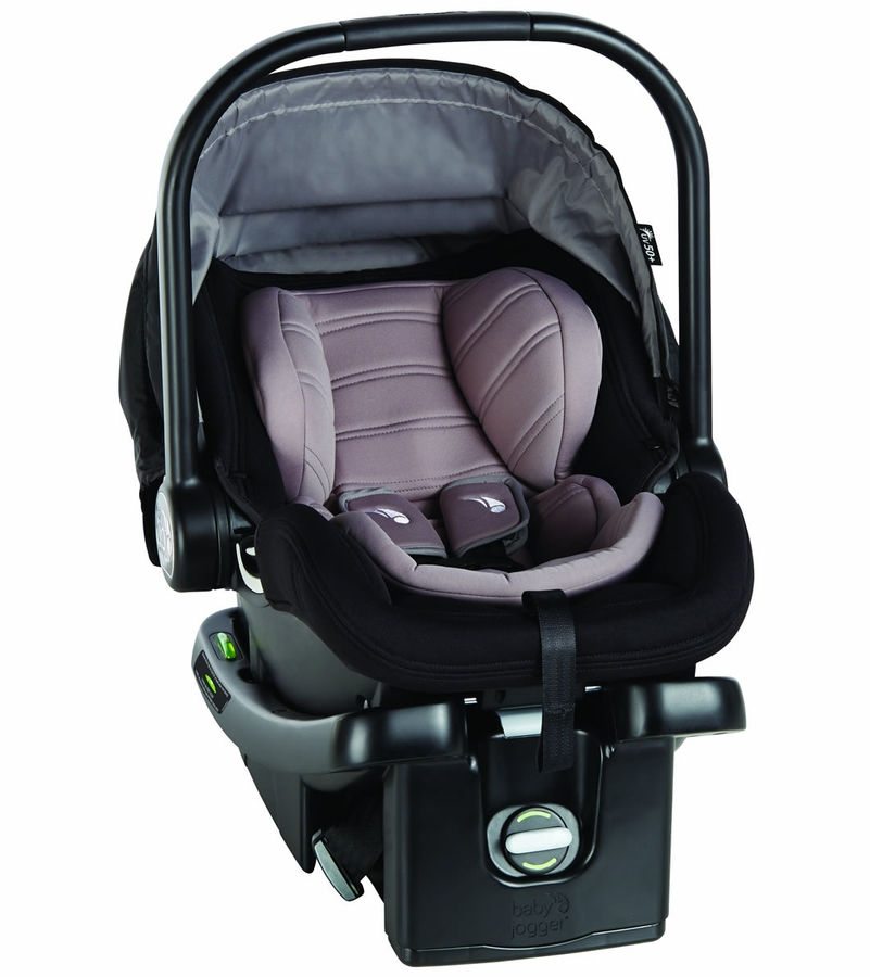 Baby Jogger City Go Infant Car Seat with Base 4-35 Lbs Charcoal NEW