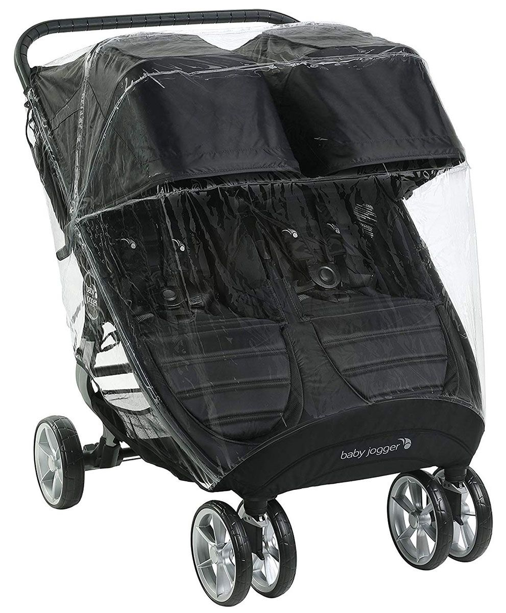 Double Baby Jogger City Mini Weather Shield