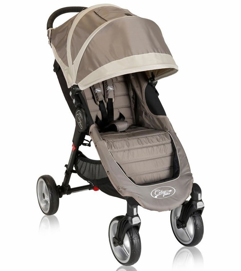 Baby Jogger City Mini 4 Wheel Single 2013 Stroller Sand