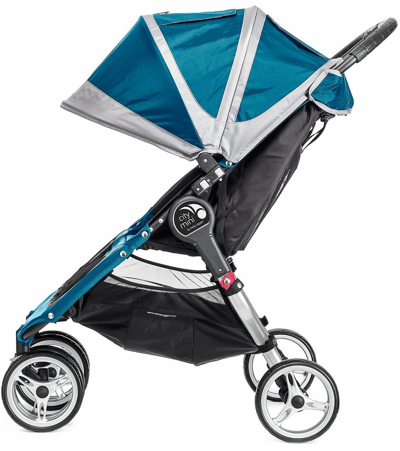 Baby Jogger City Mini Double 2016 2017 Teal Gray