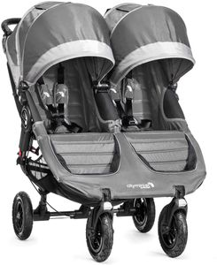 Baby Jogger City Mini GT Double Stroller 2016/2017 Steel Gray