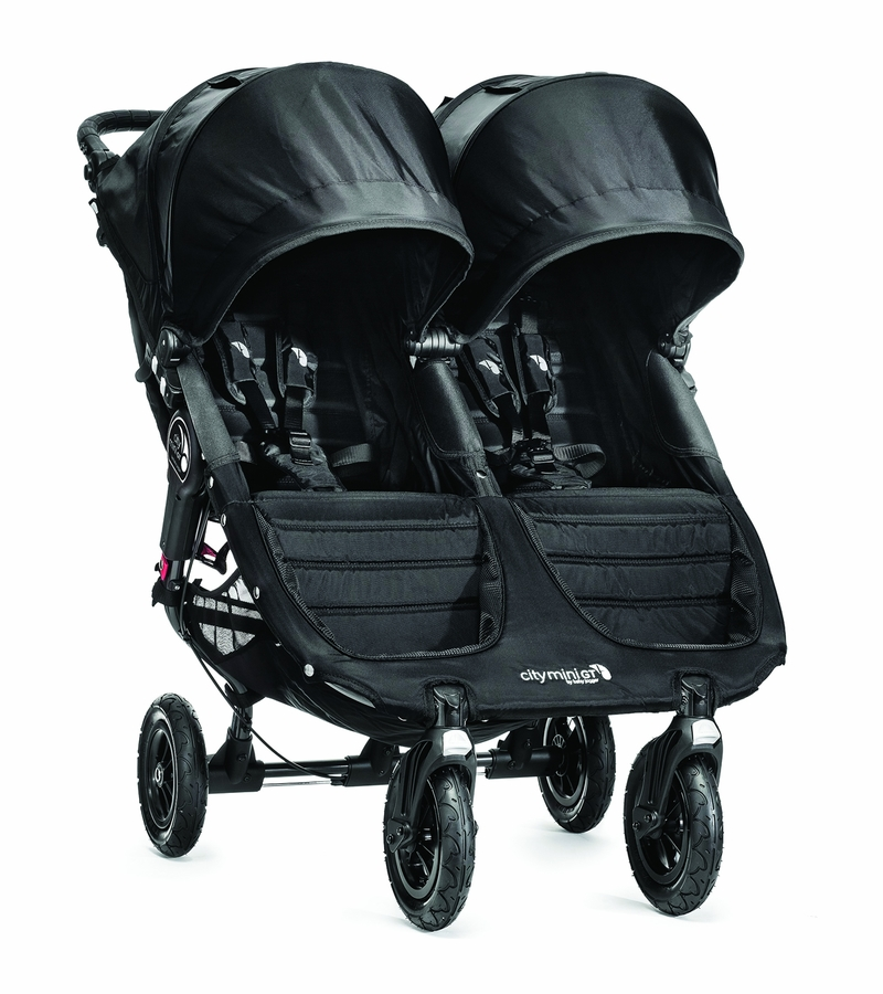 Baby Jogger City Mini Gt Double Stroller 2016 2017 Black Black