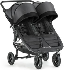 Baby Jogger City Mini GT Double Stroller 2017 - Shadow Black