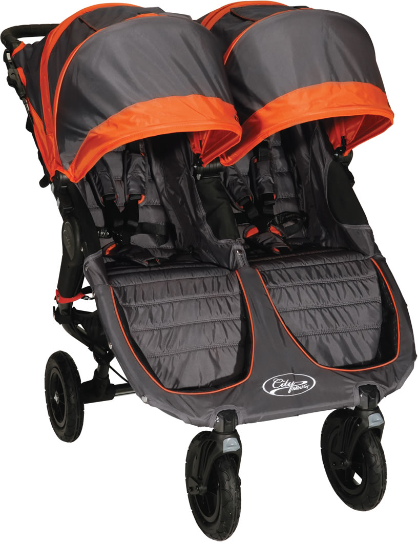 Baby Jogger 2015 City Mini Gt Double 2013 Stroller Shadow Orange