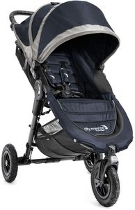 Baby Jogger City Mini GT Single Stroller - Midnight/Gray