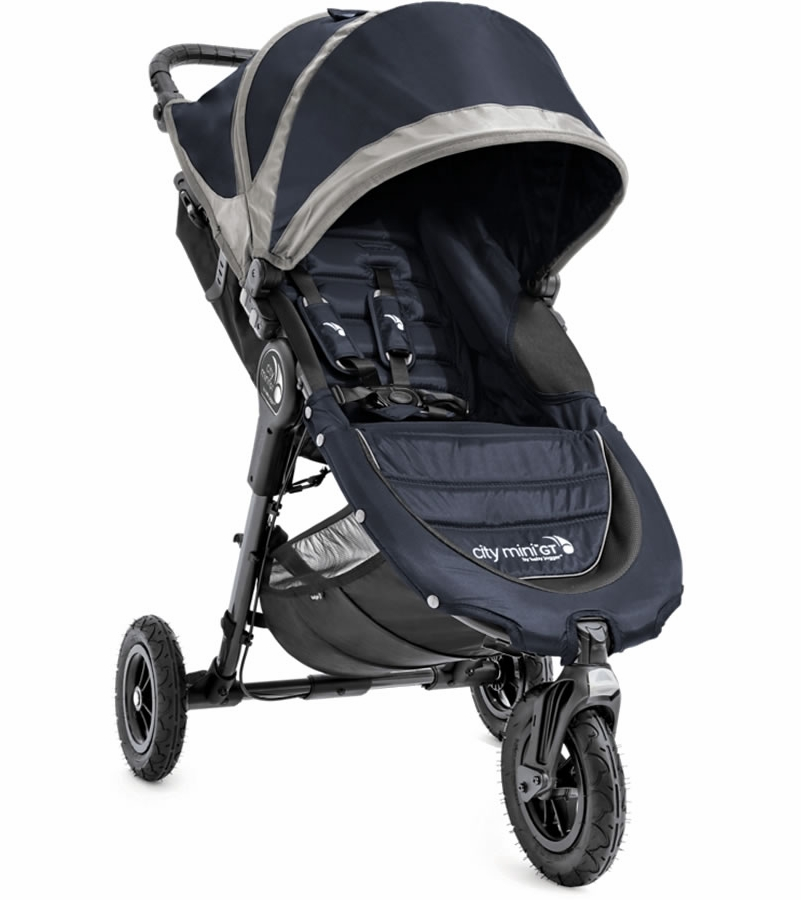 Baby Jogger City Mini Gt Single Stroller Midnight Gray
