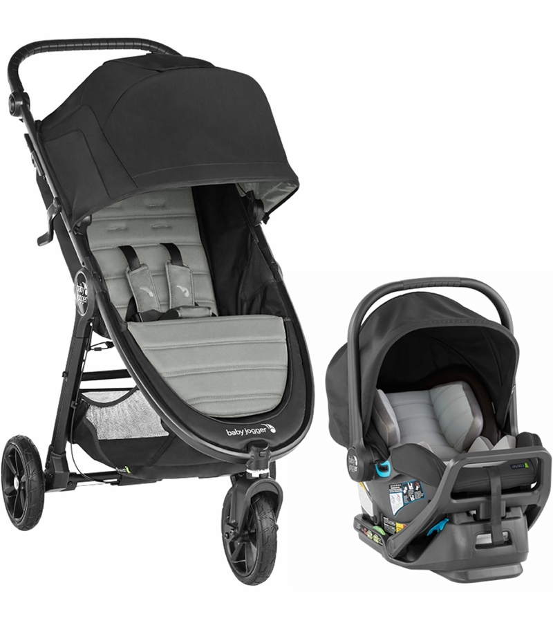 Baby Jogger City Mini GT2 Travel System - Slate