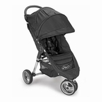 "Baby Jogger City Mini Single 8"" Stroller 2011 Black/Black"