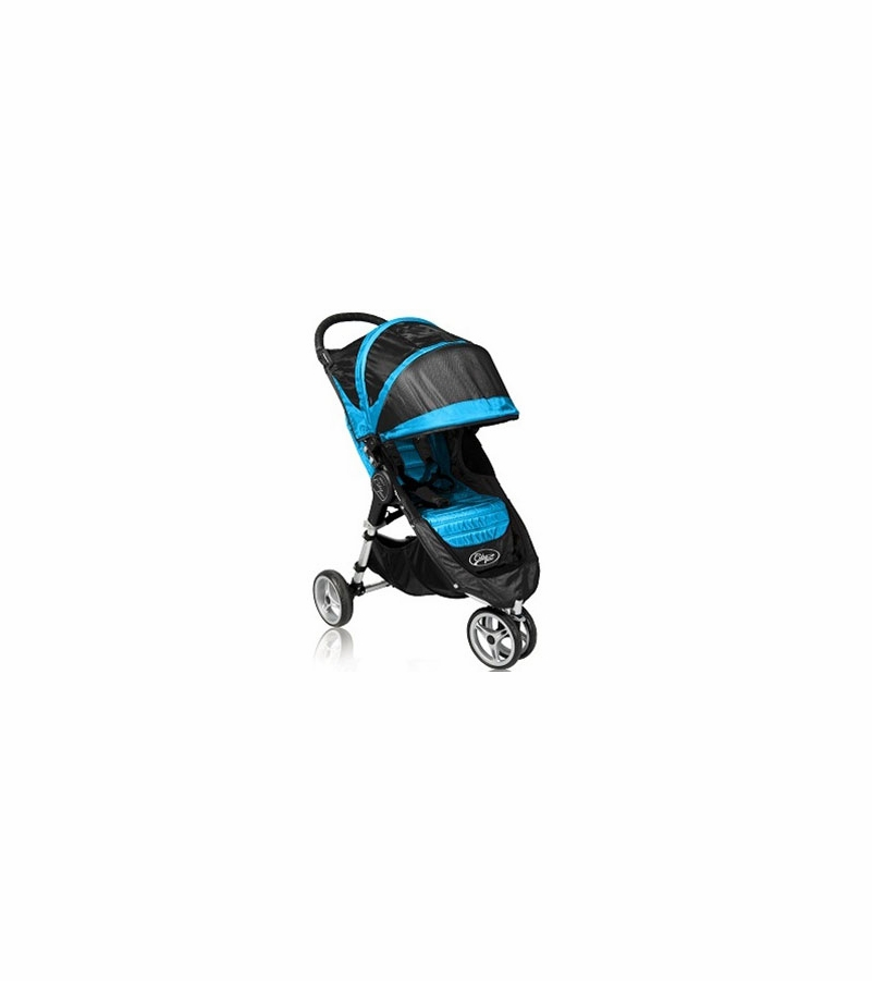 Baby Jogger City Mini Single 8 Quot Stroller 2011 Black Blue