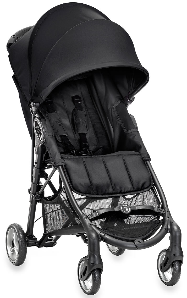 Baby Jogger City Mini Zip Stroller Black
