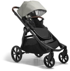 Baby Jogger City Select 2 Single Stroller - Eco Collection - Frosted Ivory