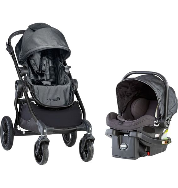 Baby Jogger City Select + City GO Travel System - Charcoal
