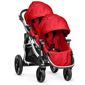 Baby Jogger City Select Double Stroller - Ruby