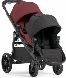 Baby Jogger City Select Lux Double Stroller - Port/Granite
