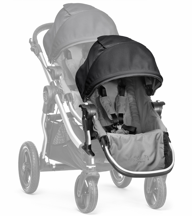 Baby Jogger City Select Second Seat Kit Gray Black