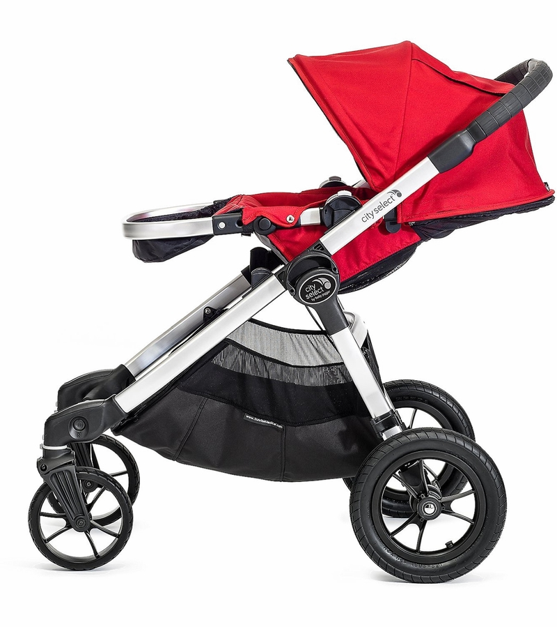 Baby Jogger City Select Single Stroller Ruby