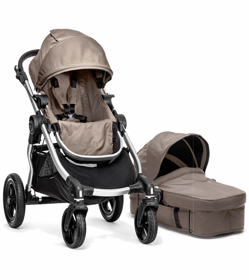 Baby Jogger City Select Stroller & Bassinet - Quartz