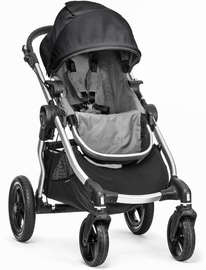 Baby Jogger City Select Single Stroller - Gray/Black