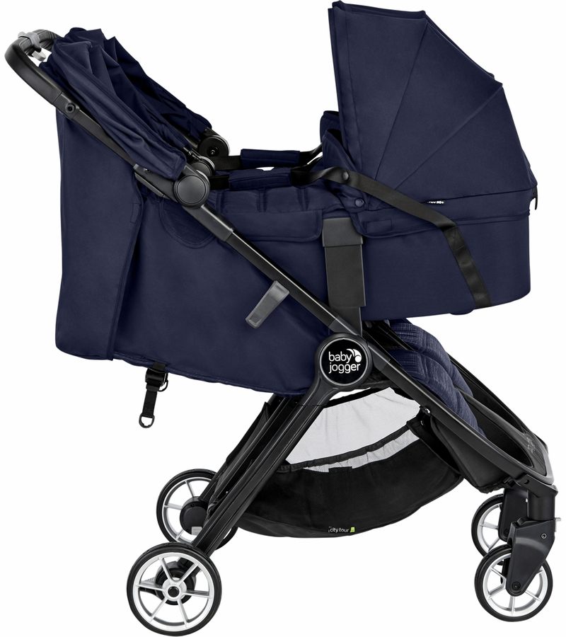 Baby Jogger City Tour 2 Double Carrycot - Seacrest