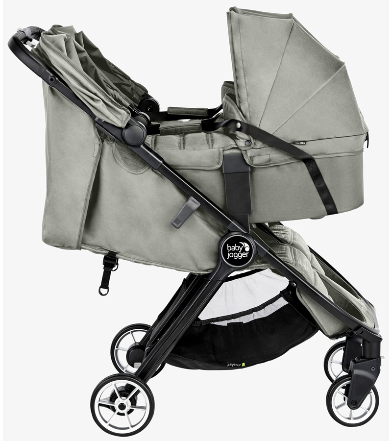 Baby Jogger City Tour 2 Double Carrycot - Slate