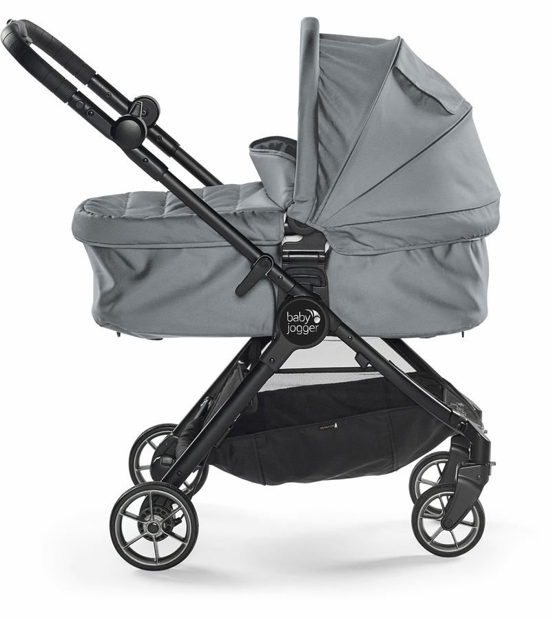 Baby Jogger City Tour LUX Folding Bassinet - Slate