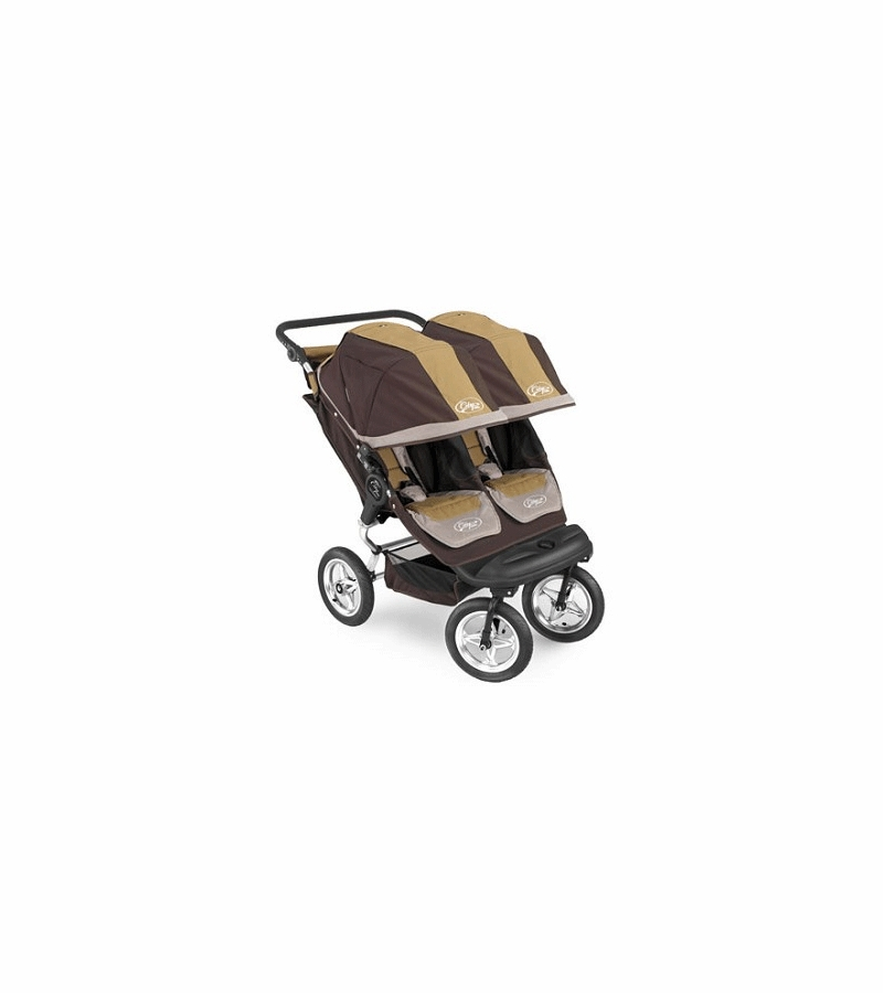 Baby Jogger Swivel City Elite Series Double 2008 Brown/Tan