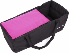 Baby Monsters Soft Carrycot - Fuchsia