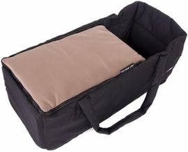 Baby Monsters Soft Carrycot - Taupe