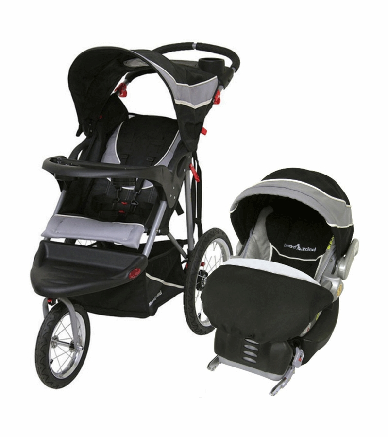 Baby Trend Expedition Jogging Travel System Phantom