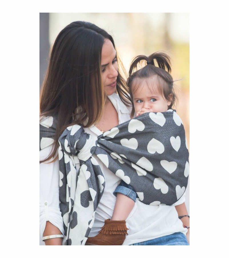 Tula Ring Sling Carrier L Xl Baby Tula Love Noir