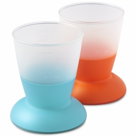 BabyBj�rn Cup 2 Pack in Orange & Turquoise