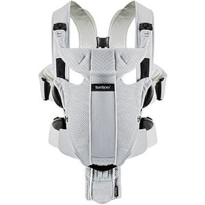BabyBjörn Miracle Baby Carrier Mesh - Silver Mesh