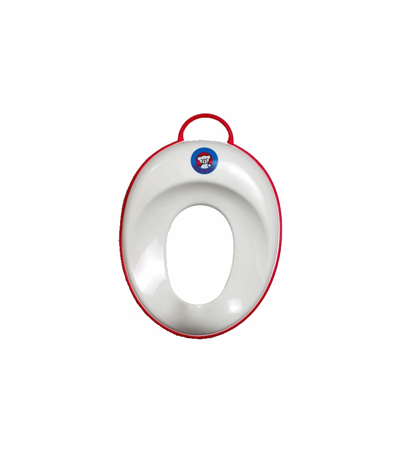 Stupendous Babybjorn Toilet Trainer In White With Red Trim Alphanode Cool Chair Designs And Ideas Alphanodeonline