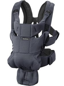 BabyBjorn Baby Carrier Free, 3D Mesh - Anthracite