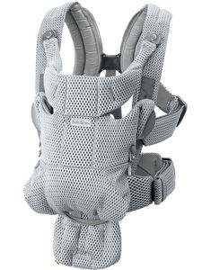 BabyBjorn Baby Carrier Free, 3D Mesh - Grey