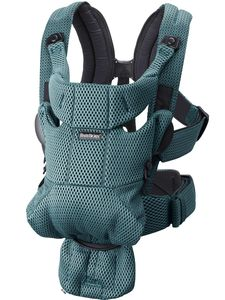 BabyBjorn Baby Carrier Free, 3D Mesh - Sage Green
