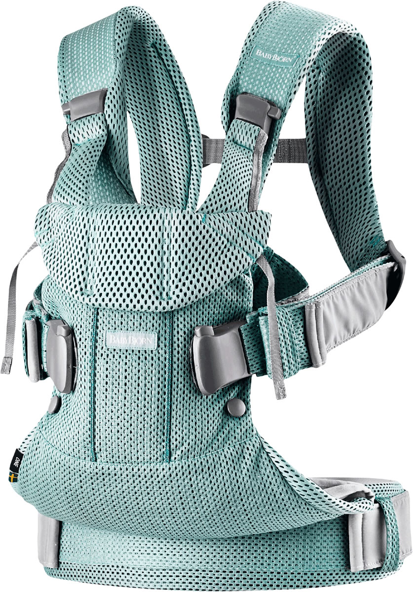 Babybjorn Baby Carrier One Air 3d Mesh Frost Green