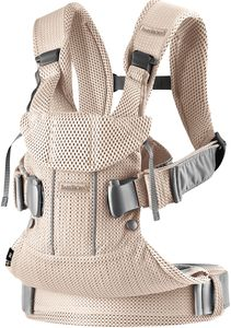 BabyBjorn Baby Carrier One Air, 3D Mesh - Pearly Pink