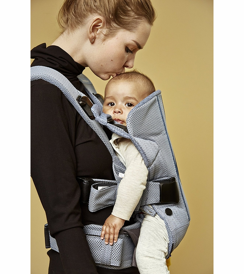 Babybjorn Baby Carrier One Air Navy Blue