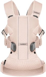 BabyBjorn Baby Carrier One Air - Powder Pink, Mesh