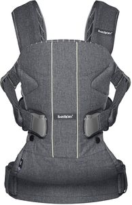 BabyBjorn Baby Carrier One - Gray Pinstripe