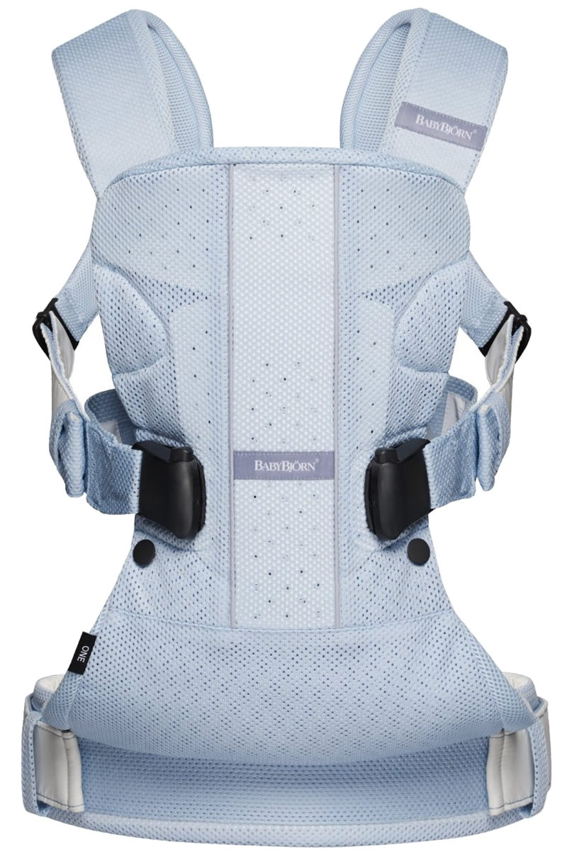 6552e7d12bec BabyBjorn Baby Carrier One Air - Light Blue