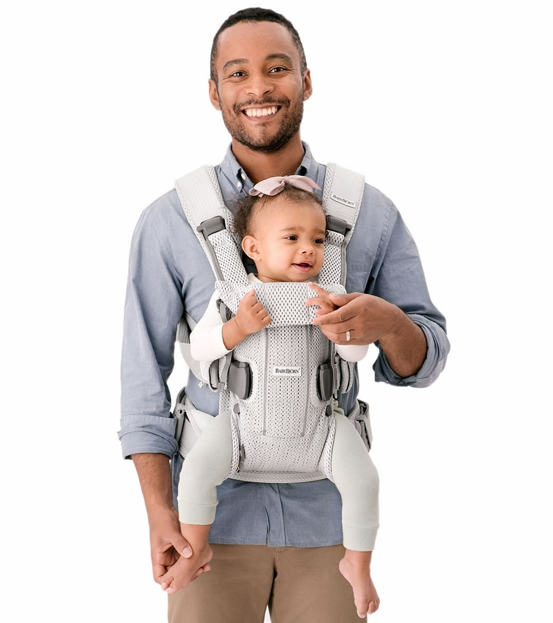 Babybjorn Baby Carrier One Navy Blue 3d Mesh