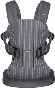 BabyBjorn Baby Carrier One - Pinstripe Gray
