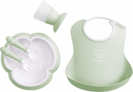 BabyBjorn Baby Dinner Set - Powder Green
