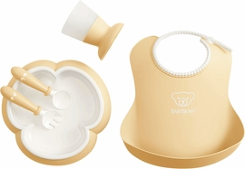 BabyBjorn Baby Dinner Set - Powder Yellow