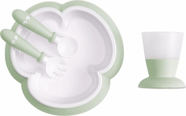BabyBjorn Baby Feeding Set, Powder Green