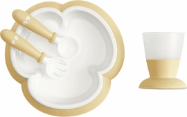 BabyBjorn Baby Feeding Set, Powder Yellow
