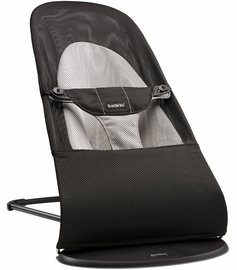 BabyBjorn Bouncer Balance Soft, Mesh - Black / Grey